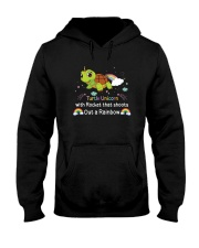 Turtle unicorn 1806P Hooded Sweatshirt thumbnail