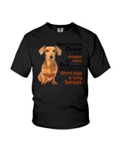 Dachshund Best Friend 1906 Youth T-Shirt tile