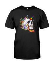 Skull Unicorn Classic T-Shirt front