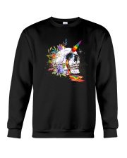 Skull Unicorn Crewneck Sweatshirt thumbnail
