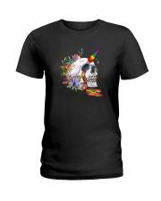 Skull Unicorn Ladies T-Shirt thumbnail