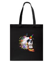 Skull Unicorn Tote Bag thumbnail