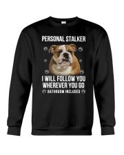 Bulldog Stalker  Crewneck Sweatshirt thumbnail