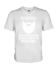 Beard-The oldest way 2006P V-Neck T-Shirt thumbnail