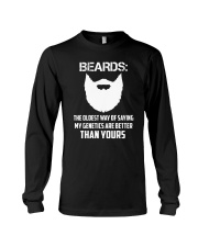 Beard-The oldest way 2006P Long Sleeve Tee thumbnail