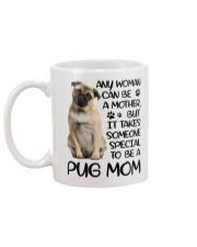 Pug Mom Mug back