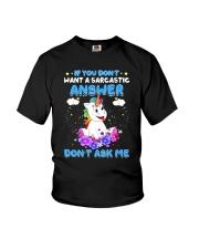 Apollo Unicorn Dont Ask Me Youth T-Shirt thumbnail