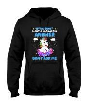 Apollo Unicorn Dont Ask Me Hooded Sweatshirt thumbnail