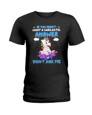 Apollo Unicorn Dont Ask Me Ladies T-Shirt thumbnail