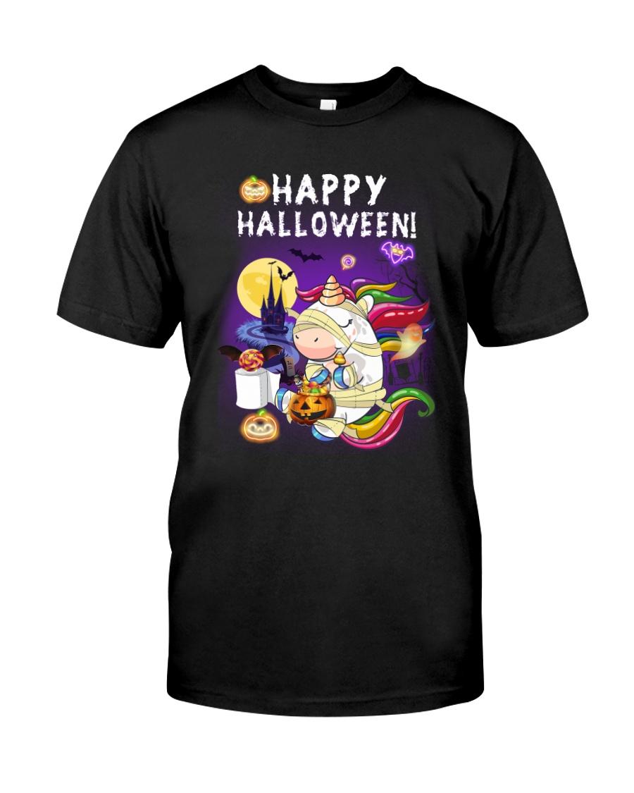 Unicorn Halloween 0308 Classic T-Shirt