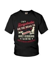 Rescue Dogaholic Youth T-Shirt thumbnail