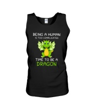 Dragon Time to be 1806 Unisex Tank tile
