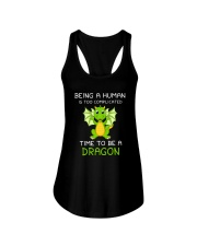 Dragon Time to be 1806 Ladies Flowy Tank tile