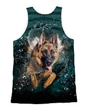 German Shepherd Underwater 1406 All-over Unisex Tank back