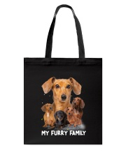 Dachshund Furry Family 2006 Tote Bag thumbnail