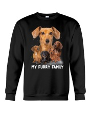 Dachshund Furry Family 2006 Crewneck Sweatshirt tile