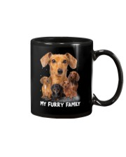 Dachshund Furry Family 2006 Mug tile