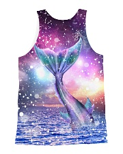 Mermaid Awesome 1606 All-over Unisex Tank back