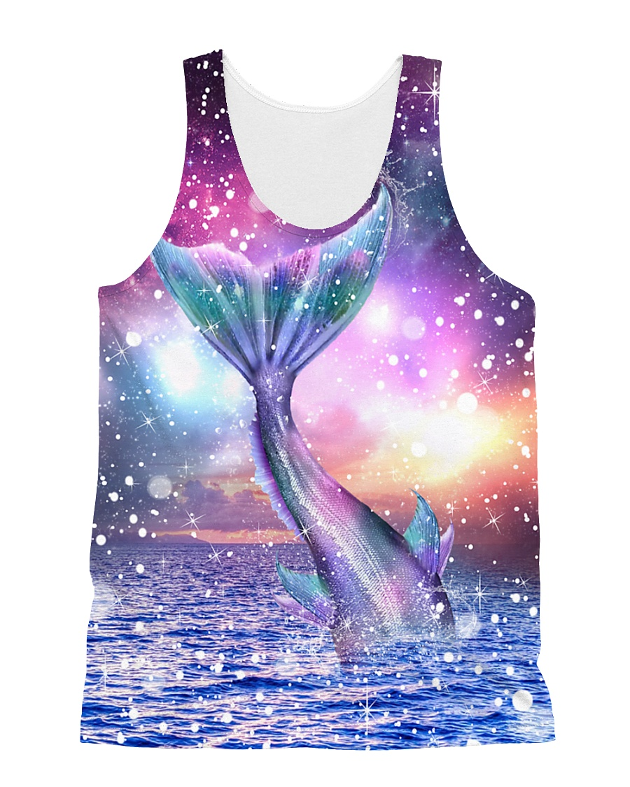Mermaid Awesome 1606 All-over Unisex Tank