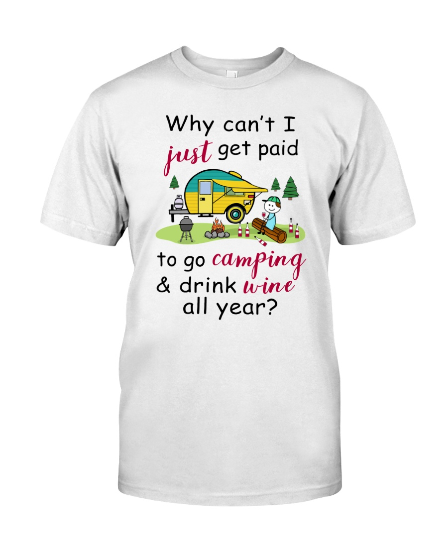 Camping Paid 1007 Classic T-Shirt