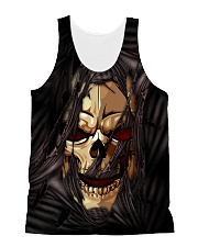 Skull Scratch 2006 All-over Unisex Tank front