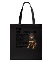 The rottweiler 2106L Tote Bag thumbnail