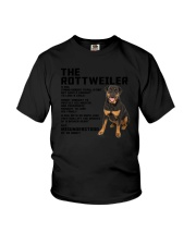 The rottweiler 2106L Youth T-Shirt thumbnail