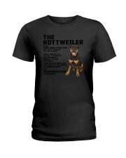The rottweiler 2106L Ladies T-Shirt thumbnail