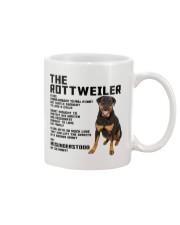The rottweiler 2106L Mug front
