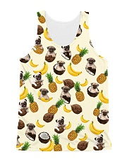 Pug Fruit 1406 All-over Unisex Tank front