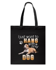 American Staffordshire Terrie My Dog Tote Bag thumbnail