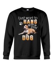 American Staffordshire Terrie My Dog Crewneck Sweatshirt thumbnail