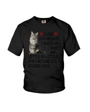 I Love Cats Youth T-Shirt thumbnail