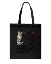 I Love Cats Tote Bag thumbnail
