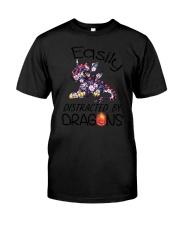 Dragon Easily Distracted Classic T-Shirt thumbnail
