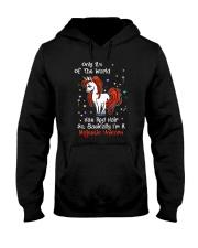 Majestic unicorn 1110 Hooded Sweatshirt thumbnail