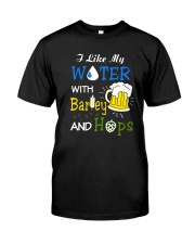 Beer Water Classic T-Shirt front