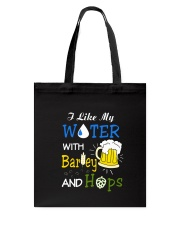 Beer Water Tote Bag thumbnail