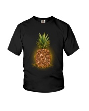 Skull Pineapple Youth T-Shirt thumbnail
