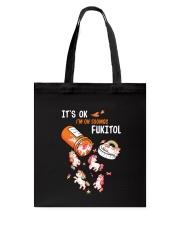 Unicorn Fukitol Tote Bag thumbnail