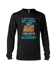 Poodle Accident Long Sleeve Tee tile