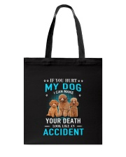 Poodle Accident Tote Bag tile
