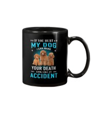 Poodle Accident Mug tile