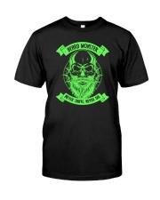 Beard monster 1906L Classic T-Shirt front