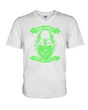 Beard monster 1906L V-Neck T-Shirt thumbnail