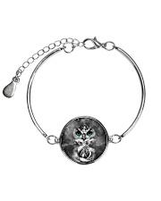 Owl Black Rose 0706 Metallic Circle Bracelet thumbnail