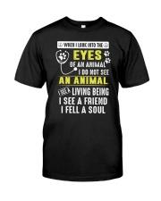 Animal Soul Classic T-Shirt front