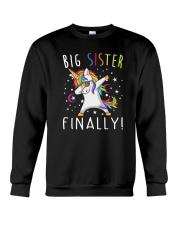 Unicorn Big Sister 1503 Crewneck Sweatshirt thumbnail