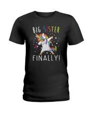 Unicorn Big Sister 1503 Ladies T-Shirt thumbnail