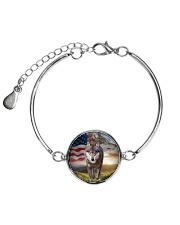 Wolf for USA 1606 Metallic Circle Bracelet thumbnail
